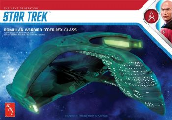 Star Trek Romulan Warbird D'Deridex-Class 1:3200 Scale Model Kit
